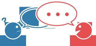 室井税理士事務所対面・オンライン面談の図